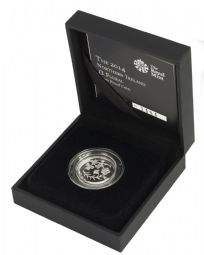 2014 Silver Proof One Pound Coin - Floral Northern Ireland for sale